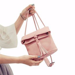 Wholesale Modern Cell - Wholesale-Modern Designer Handbags Women Retro Shoulder Messenger Bag Bucket Bag Handbag H15
