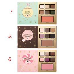 Wholesale cookie brands - 2017 New Makeup 7 colors Eyeshadow Gingerbread cookie peppermmi mocha eggnog latte eyeshadow 3 types waterproof New stocking brand new