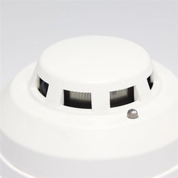Wholesale Network Smoke Detector - Wholesale- New Brand Wired Networking Sensor Smoke Detector For Sale Optical Host components Smoke Detector Alarm For gsm alarm system