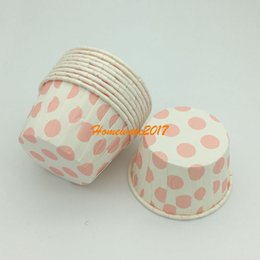 Wholesale Paper Stand For Cup Cakes - Cute Baking Paper Muffin liner cases cake cup mold mould Wrapper Dessert for Birthday wedding Party