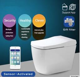 Wholesale Smart Toilet Bidet - 2017 year hot sale,Hot Sale Modern Design Sensor Seat Smart Electric Bidet Toilet