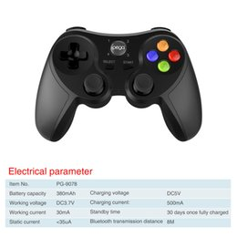 Wholesale Cheapest Wholesale Tablets - Ipega Cheapest Wireless Game Controller PG-9078 Wireless Gamepad Joystick for Android iOS Cellph one PC Laptop Tablet TV TV Box
