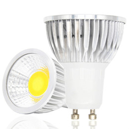 Wholesale Garden Temperature - Lampada LED Lamp 220V 110V 3W 5W 7W COB LED Spotlight GU10 85-265V Lamparas LED Bulbs 3 Color Temperature Christmas Lights