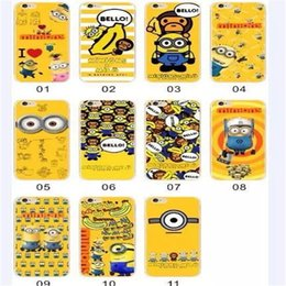 Wholesale Despicable Note - 300PCS Despicable Me Ultra thin TPU Case More Cover for iPhone 5 5S 6 6s Plus Samsung galaxy Note 2 3 4