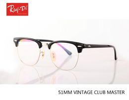 Wholesale Plastic Optical Lens - 2017 new brand Optical Frame designer Eyeglasses Women Men Eyewear Vintage Fashion Frames Glasses silver Female High Quality lens with case