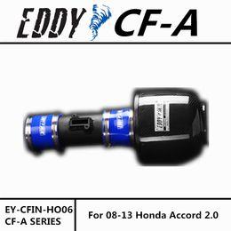 Wholesale Honda Accord Intake - For Honda Accord 2.0 2008-2013 High Performance CF-A Carbon Fiber Cold Air Intake System Air Filter