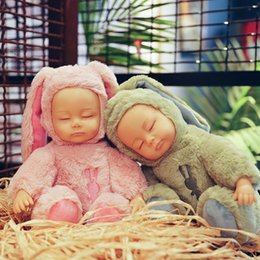 Wholesale Mini Toy Hats - A new style of baby dolls, bedtime toys, children's gifts, children's gifts, and a high quality soothing doll