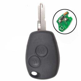 Wholesale Megane 433mhz - 2 Buttons Remote Key 433MHz PCF7947 for Renault Megane Modus Clio Kangoo Logan