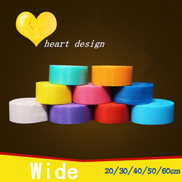 Wholesale Wide Film - 20cm wide heart design different color shrink pack Burbuja Cushion Bubble Roll wrap Polietileno Emballage Bulle Packing Film Materials