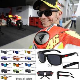 Wholesale Holbrook Blue - Fashion Holbrook Style Sunglasses VR46 Julian Wilson MotoGP Signature Sun Glasses Sports UV400 Oculos Goggles For Men 20PCS Lot