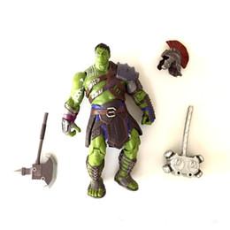 Thor: juguetes de muñecas Ragnarok Gladiatus Hulk 2017 nuevos niños Avengers modelo de dibujos animados PVC juguetes articulaciones pueden mover B001 desde fabricantes