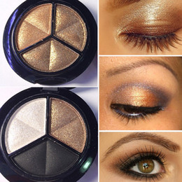 Wholesale Cheap Shimmer Eyeshadow - Wholesale- Professional Eye Makeup Cosmetics 8 Colors Shinee Glitter Pigment Waterproof Long Lasting Cheap Makeup Shimmer Eyeshadow Palette