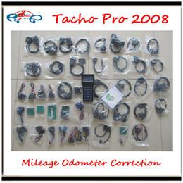 Wholesale Tacho Pro Gm Chevrolet - 2017 Hot selling 2008 Tacho Pro Mileage Correction Tool Unlocked version Odometer Correction tool Universal Tacho Pro 2008 Dash Programmer