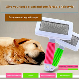Wholesale Groom Teddy - Dog comb cat dog common dog fur comb teddy brush cat comb brush pet needle comb.