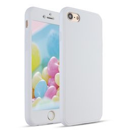 Wholesale Candy Color Mobile Case - For Apple iPhone 6 6s Plus 7 7Plus 5 Anti-knock Scratch Resistant Soft TPU Candy Color Back Cover Mobile Phone Case