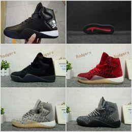 Wholesale Hip Boots Women - Brand Sneakers Famous Mastermind Japan Tubular Instinct PK Red Grey Gum Black MMJ Mens Sports Running Boost hip hop sneaker Size 40-44