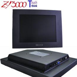 Zoll-touchscreen preis online-neues Sonderangebot des Verkaufs-Angebotes hdmi Kiosk großer Preis 10,4 Zoll 4: 3 800 * 600 Touch Screen Monitor für Maschine, Metallgehäuse-wasserdichter Monitor