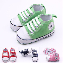 Wholesale Trainer Shoes Wholesale - Baby Infant Toddler Boys Girls Soft Non-slip Sneakers Trainers Shoes from Newborn to 18 Month New Hot