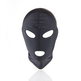 Wholesale Restraint Hood - 1 Piece Sexy Head Mask Slave Nylon SM Bondage Erotic Toys Sex Headgear Sex Toys for Couple Adult Games Restraint Hood Mask