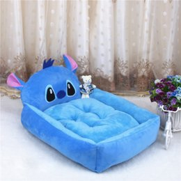 Wholesale Dog Beds Waterproof - Cute Animal Stitch Cartoon Large Dog Beds Mats Teddy Pet Dogs Sofa Pet Cat Bed For Dogs Waterproof Blanket Cushion Puppy Supplies S-XL