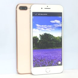 Wholesale Gsm Sim Card Camera - Goophone i8 Plus 5.5 Inch Quad Core MTK6580 Android 6.0 1.3GHz 1GB RAM 8GB ROM 1280*720 HD 8MP 3G WCDMA GSM Unlocked Smartphone