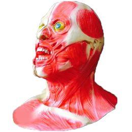 Wholesale Scary Devil Mask - 2017 Halloween Creepy Devil Mask Headgear Halloween Full Head Mask Latex Creepy Scary Full Head Cover Mask Horror Monster Actor's Headgear