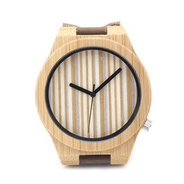 Wholesale Current Watches - Current Hot Sports Watch Wood Case Bamboo Print Dial Invicta Watches Caual Style Fashion Watches SY-WD264