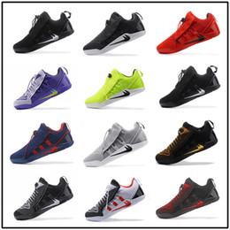 Wholesale Dark Wolf - Newest KOBE A.D NXT 12 Wolf Grey Men's Basketball Shoes White Triple Black Dark KOBE 11 AD NXT Volt Zoom Sport Sneakers