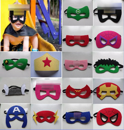 Wholesale Star Masks - 150 designs Superhero mask cosplay super hero mask star wars mask for kids Christmas Halloween birthday Party
