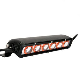 "Wholesale Amber Led Light Bars - led light bar single row 4x4 Off-road 10"" 60w 10-30v Amber light Parade light quick heat dissipation High Bright IP68"