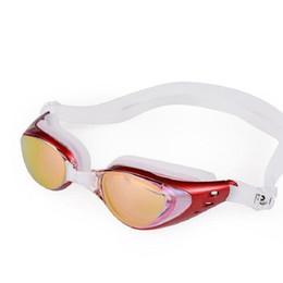 ebe908284ba22 Anti-Nevoeiro Óculos de Natação Óculos de Natação Ajustável Proteção UV  Crianças Adulto Óculos de Natação Óculos Frete Grátis óculos de natação  ajustáveis à ...