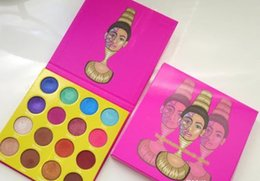Wholesale 2017 new Egyptian Yan eye shadow The saharan by juvia s color high light pearl palette factory direct