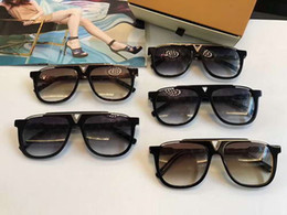 Wholesale Mascot Sunglasses - Men Black Attitude Evidence Mascot Sunglasses Black Grey Gradient Lenes Designer sunglasses Brand New in Box