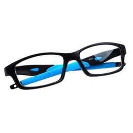 spectacles glasses Coupons - Wholesale- Silicone Optical Brand Eye Glasses Frame Eyeglasses Frames Eyewear Plain Glass Spectacle Frame