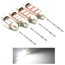 Wholesale Leds Canbus - High Quality Car Festoon 31mm 36mm 39mm 42mm 41MM led 12-4014 smd leds White light Dome festoon CANBUS 12v 24v reading map bulb lamp