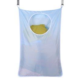 Bolsas colgantes para almacenamiento en el hogar y almacenamiento en el hogar, bolsa Storae Oxford para prendas sucias, seis colores con cremallera y ganchos desde fabricantes