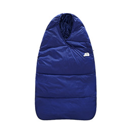Wholesale Holds Baby Blanket - Winter baby feather cotton sleeping bag dual-use baby sleeping bag out of the newborn baby blanket car holding the waterproof thickening