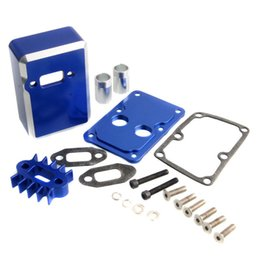 Wholesale Parts Car Engines - RC Car Engine exhaust Radiating kit Fit HPI baja 5b 5t 5sc Losi 5IVE-T UP parts