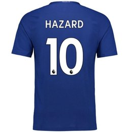 Wholesale Wholesale Chelsea Soccer Jerseys - DHL free factory set selling TOP Quality Chelsea Soccer set Jersey and short Home Blue White Willian HAZARD Pedro DIEGO COSTA KANTE WILLIAN