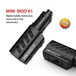 Wholesale Military Kits - 2016 Mlife MINI MOD K1 kit military style with OLED Screen 1200mah battery capacity 1.8ml atomizer capacity DHL free
