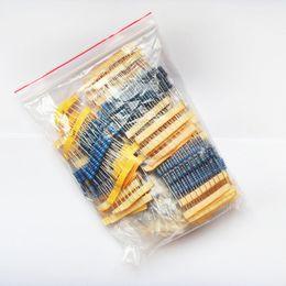 Wholesale 2w Resistor Kit - Wholesale- 2W Resistor 23valuesX10pcs=230pcs 22R~1M Metal Film Resistor Kit Resistor Pack for DIY Free Shipping