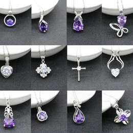 Wholesale Rhinestone Crown Jewelry Wholesale - Jmyy Jewelry New Women Wedding Bride 925 Silver Necklace Crown Heart Pendant Crystal Necklace Hot 2017