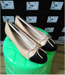 Wholesale Elegant Diamond Shoes - Top quality luxury brand elegant temperament classic diamond lattice soft Genuine Leather non-slip sheepskin ladies casual flat shoes