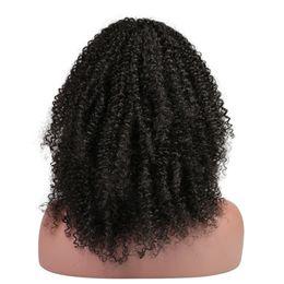 Discount mongolian kinky curly full lace wigs - Slove Lace Front Human Hair Wigs Kinky Curly Full Lace Human Hair Wigs For Black Women Pre Plucked 130% Brazilian Lace Front Wigs
