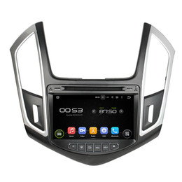 Wholesale Chevrolet Cruze Dvd Radio - 8'' Quad Core Android 5.1.1 Car DVD Player For CRUZE 2015 With Radio GPS Stereo Map Support 3G DVR