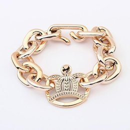Wholesale Thin Gold Plated Bangles Wholesale - Bracelets & Bangles for Women Fashion Jewelry Gold Plated Alloy Chain Bracelet Infinity Snap Men Jewelry Thin Gold Charm Bracelets