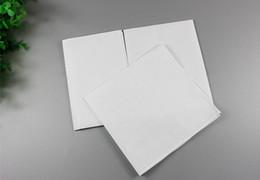 Dibujo de algodón online-Fiesta de Navidad Pañuelos blancos puros Pañuelos de algodón 100% Mujeres Hombres 28cm * 28cm Pañuelo de bolsillo Boda Plana Dibujar Pañuelos