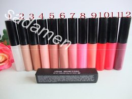 Wholesale Factory Direct Plums - Factory Direct DHL Free Shipping New Makeup Lips Lipglass Brillant Lip Gloss!4.8g