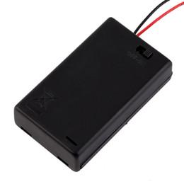 3 x AAA Battery Storage Cover Box Support en plastique avec interrupteur ON / OFF Wire Leads pour 3 piles AAA Batteries Black Wholesale $ 15 sans piste ? partir de fabricateur