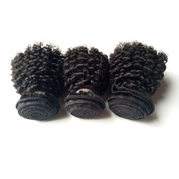 Wholesale Hair For Weaving Cheap Price - Human Hair Wefts Kinky Curly Brazilian Hair Bundles 8-12inch 6pc Malaysian Indian Cheap remy Hair For Sale Factory Price 50g pc 300g lot